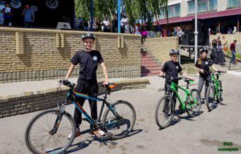 """В Изюме """"Юные Полицейские"""" будут учиться на велосипедах патрулировать улицы города"""