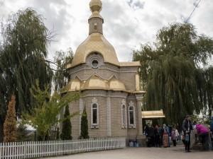 Святой источник Песчанской иконы божией матери город Изюм-7