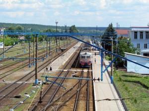 ж-д вокзал города Изюм