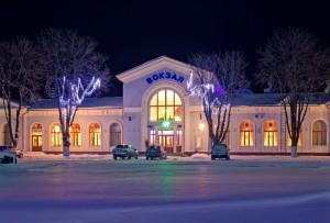 ж-д вокзал Изюм