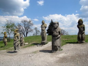 Гора Кремянец город Изюм-31