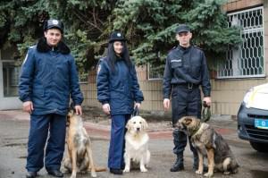 """На службу к Изюмской полиции подобраны трое новых """"сотрудников"""""""