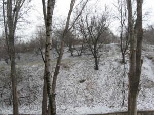 Погода 20 марта в городе Изюме преподнесла Сюрприз-1