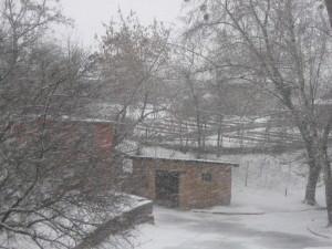 Погода 20 марта в городе Изюме преподнесла Сюрприз-10