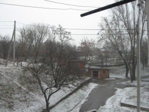 Погода 20 марта в городе Изюме преподнесла Сюрприз-3