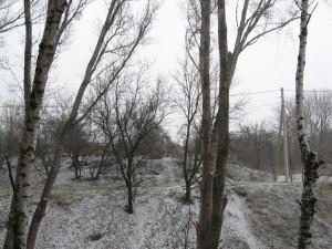 Погода 20 марта в городе Изюме преподнесла Сюрприз-4