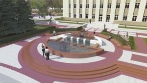 реконструкция площади города Изюма