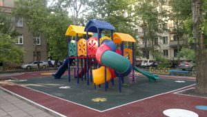 В районах Харьковской области станет больше спортивных и детских площадок