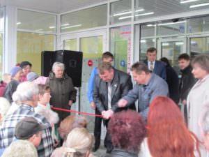 На Центральном рынке открылся новый супермаркет Посад-2