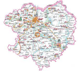 Принята Программа разработки градостроительной документации Харьковщины
