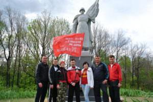 На Изюмщине восстановили памятник Неизвестному Солдату