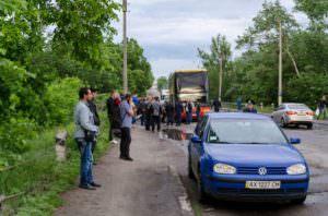 На Изюмщине полицейские обеспечили безопасность пассажиров-2
