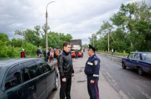 На Изюмщине полицейские обеспечили безопасность пассажиров