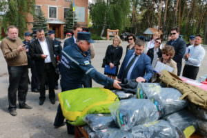 Пиротехники ГСЧС получили современное оборудование от стран Европейского Союза-1