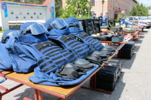 Пиротехники ГСЧС получили современное оборудование от стран Европейского Союза
