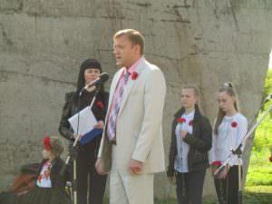 8 мая в Изюме отметили День памяти и примирения