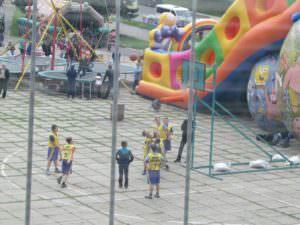 В Изюме прошли соревнования по уличному баскетболу-2