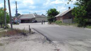В микрорайоне Гончаровка отремонтировано дорожное покрытие-2