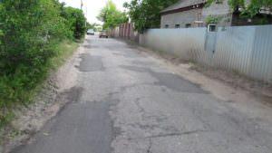 В микрорайоне Гончаровка отремонтировано дорожное покрытие-3