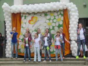 Международный день защиты детей, прошел в городе Изюме-1
