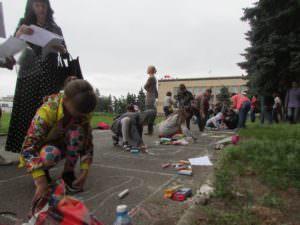 Международный день защиты детей, прошел в городе Изюме