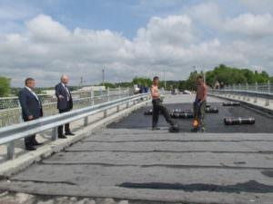 Мост в Барвенково открыли для транспорта-2