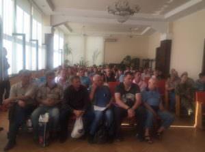Участники АТО получили землю в Изюмском районе-1