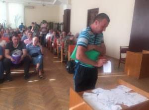 Участники АТО получили землю в Изюмском районе-2