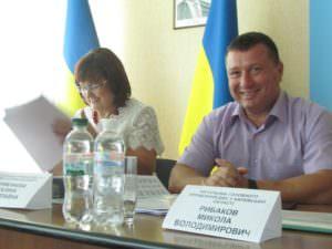 В Изюме состоялась встреча налогоплательщиков с руководителем ГУ ДФС в Харьковской области-1