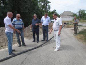 Отныне жители микрорайона «Гончаровка» будут качественно и вовремя получать услуги централизованного водоснабжения-2