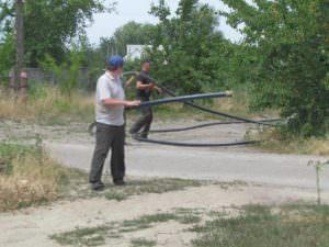 Отныне жители микрорайона «Гончаровка» будут качественно и вовремя получать услуги централизованного водоснабжения-4