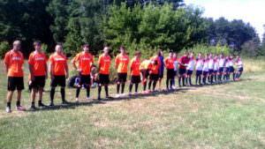 Продолжается чемпионат по футболу среди взрослых команд района