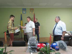 Руководство города наградило юных спортсменов, которые будут защищать честь Изюма на международных соревнованиях-2