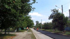 В Изюме начат второй этап ремонта дорог