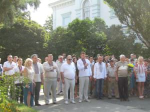В Изюме отметили День Государственного Флага Украины-1