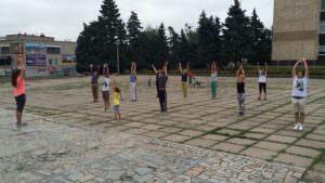 В Изюме проходят бесплатные тренировки