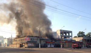 В городе Балаклее горел хлебзавод
