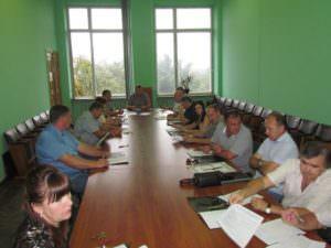 В полном составе собрались члены исполкома на очередное заседание