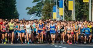 В харьковском марафоне бежали 3 тыс. человек в том числе и Изюмчани