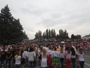 Изюмчани отпраздновали юбилейный 25 День Независимости Украины-2