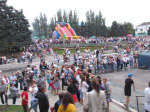 Изюмчани отпраздновали юбилейный 25 День Независимости Украины-4