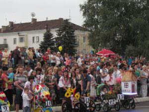 Изюмчани отпраздновали юбилейный 25 День Независимости Украины-9