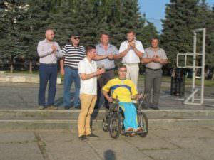 Изюмчани торжественно провели своего земляка Александра Єзика на Олимпийские игры в г. Рио-де-Жанейро-0