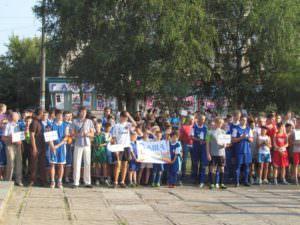 Изюмчани торжественно провели своего земляка Александра Єзика на Олимпийские игры в г. Рио-де-Жанейро-1
