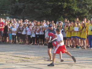 Изюмчани торжественно провели своего земляка Александра Єзика на Олимпийские игры в г. Рио-де-Жанейро-5