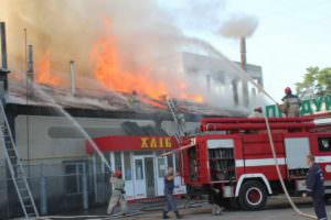 Ликвидирован пожар в пекарне г. Балаклея-1