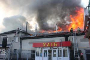 Ликвидирован пожар в пекарне г. Балаклея