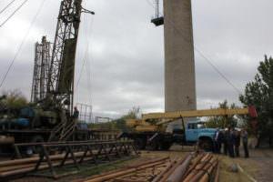 В Савинцях начато строительство сверхглибоководної артезианской скважины-1