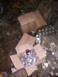 Отравление под Харьковом: в полиции показали алкоголь, который могли выпить умершие