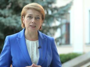Поздравление Министра образования и науки Лилии Гриневич с 1 сентября